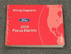 2015 Ford Focus Electric Electrical Wiring Diagrams
