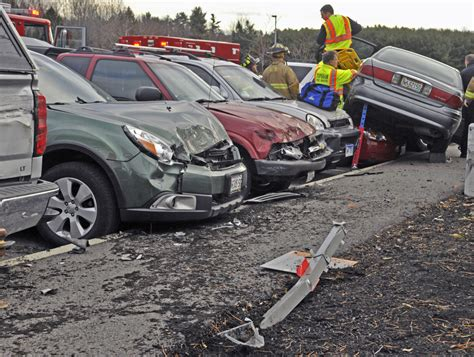 Driver Crashes Into Seven Parked Cars At Mainegeneral