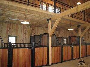 17 best images about equestrian the barn interior on With best wood for horse stalls