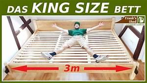 Massivholz Bett Selber Bauen Anleitung : xxl bett selber bauen aus massivholz diy anleitung franks ~ Watch28wear.com Haus und Dekorationen