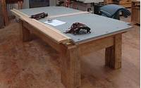 how to make a pool table Dorset Custom Furniture - A Woodworkers Photo Journal: Build your own Pool Table Update