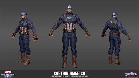 Spider Man Captain America Civil War Costume For Marvel