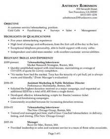 objective summary on resume exle writing resume objective summary resume cover letter template