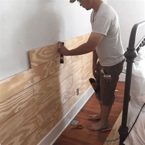 How To Make Shiplap by Cheap And Easy Diy Shiplap Wall Farmhouse On Boone
