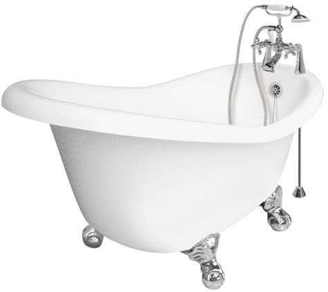bath tubs at lowes ascot series antique style clawfoot slipper tubs with