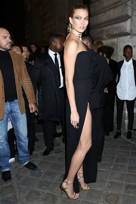 Celebrities Trands Karlie Kloss Arriving The Oreal