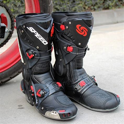 safest motorcycle boots motorcycle boots racing speed cycling safety shoes pro