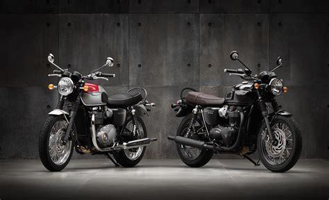 2016 Triumph Bonneville T120 And T120 Black First Photos