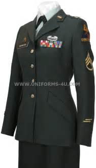 U.S. Army Female Enlisted Dress Uniform