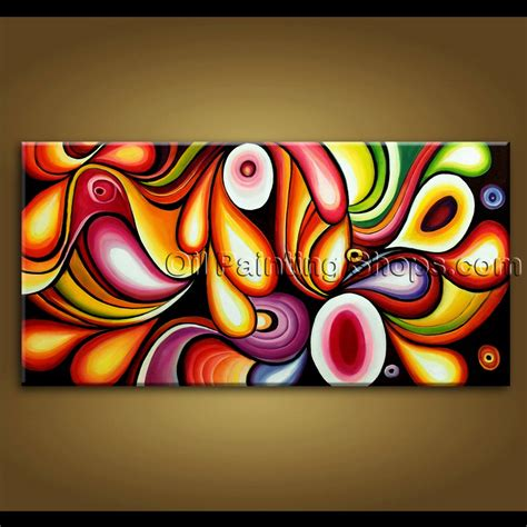 unique small bathroom ideas large wall original modern abstract painting