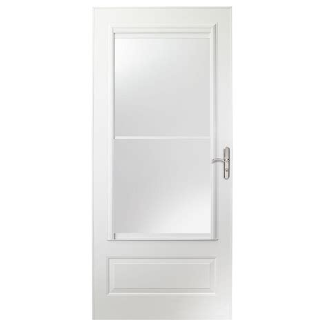 emco 400 series door emco 32 in x 80 in 400 series white universal self