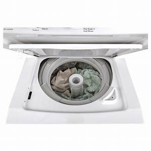 Ge 24 U0026quot  Stack Washer With Gas Dryer