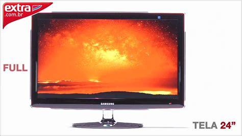 Tv Monitor 24 Polegadas Lcd Samsung Ecofit P2470hn Full Hd