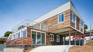San Diego Modern Home Made From Shipping Containers ...