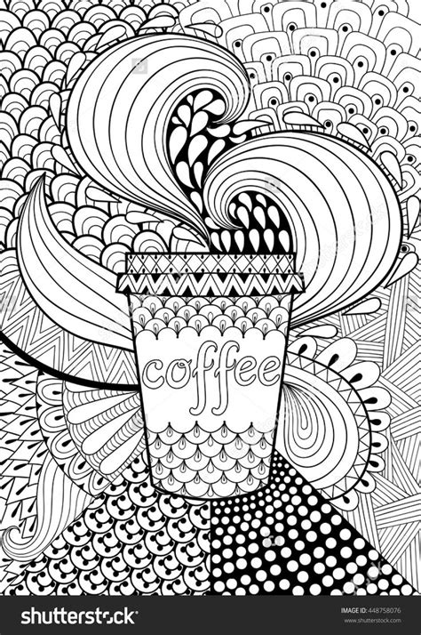 Coffee coloring sheet in 2020 | free coloring pages. 1000+ images about Coffee + Tea Coloring Pages for Adults on Pinterest | Coloring pages, Tea ...