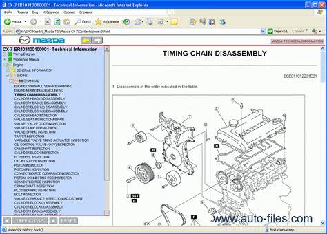 free online car repair manuals download 1985 mazda rx 7 parental controls mazda cx 7 repair manuals download wiring diagram electronic parts catalog epc online