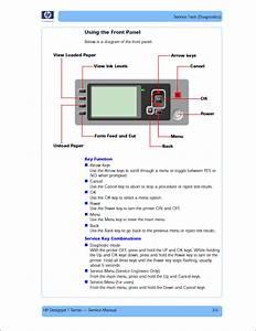 Hp Designjet T1120 T1100 T610 Service Manual
