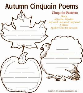 earning my cape autumn poetry printables for kids With poetry templates for kids
