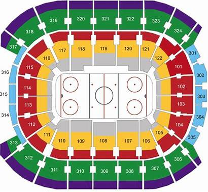 Leafs Seating Centre Canada Air Chart Maple