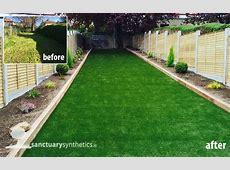 Artificial grass lawns for back gardens Dublin, Ireland