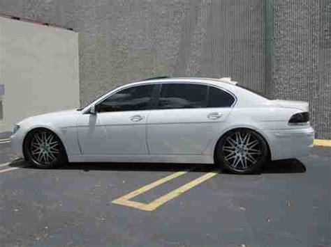Buy Used 2007 Bmw 750li White/creme And Black,29k Miles