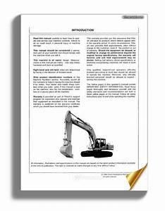 Hitachi Ex300 300lc 300h 300lch 3 Operators Manual