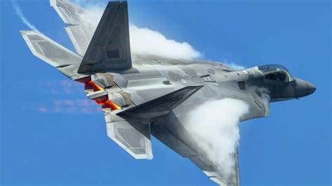 F22 랩터 (공중전투 장면) 5세대 전투기 Youtube