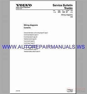Volvo Vm Trucks Wiring Diagram Service Manual