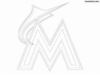 Mlb Logos Coloring Pages Colorings