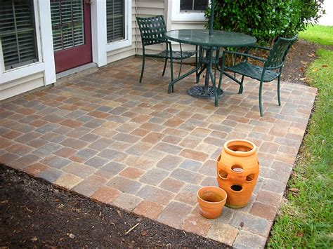 pavers ideas paver patio pictures and ideas