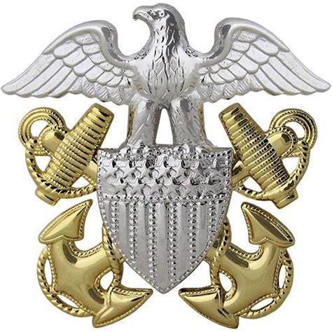usn regulation size officer cap device vanguard