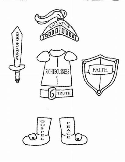 God Armor Coloring Pages Awesome Worksheets Via