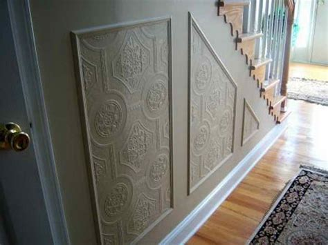 Elegant Faux Wainscoting Wallpaper Simple Ways To