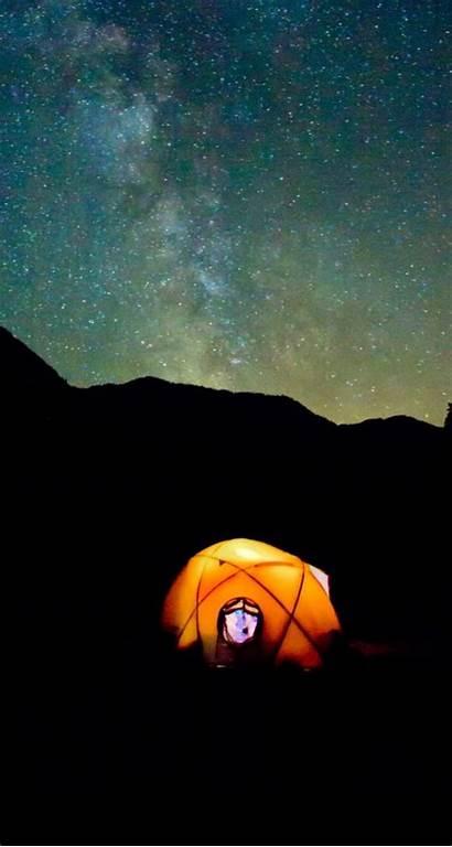 Malam Bintang Pemandangan Langit Gambar Keren Kartun