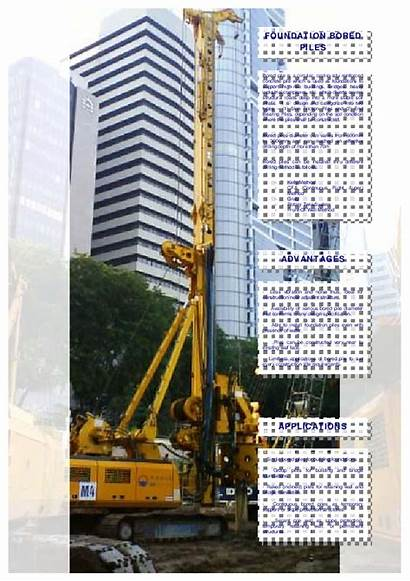 Pile Foundation Bored Construction Sequence Joseph Mark