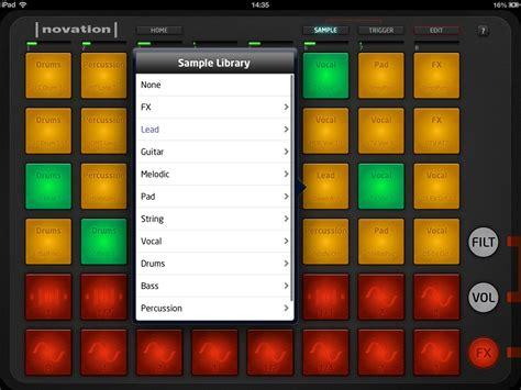 novation launchpad  ipad  controller app
