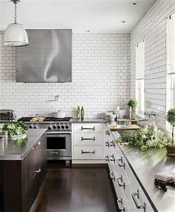WHITE SUBWAY TILE BACKSPLASH IDEAS Vida-Design