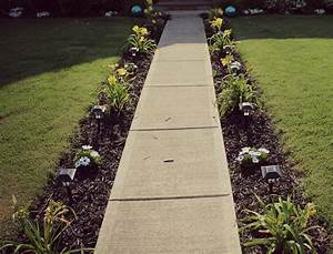 Landscape: Add Your Style To The Garden With Walkway Ideas ...