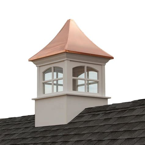 Cupola Roof Directions Westport Vinyl Cupola With Copper Roof 48