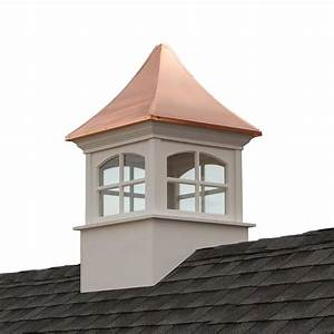 good directions westport vinyl cupola with copper roof 48 With copper cupola tops