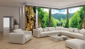 3d Tapete Wald : faltenfreies panorama so bringen sie eine fototapete an die wand ebay ~ Frokenaadalensverden.com Haus und Dekorationen
