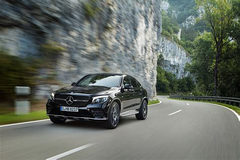 It is available in 1 variant, 1 engine option and 1 transmission option : Mercedes-AMG GLC 43 Coupe (C253) specs & photos - 2016, 2017, 2018, 2019 - autoevolution