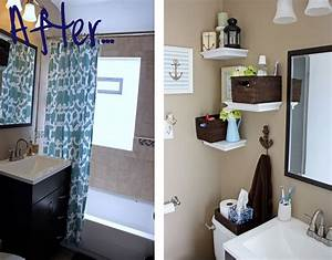 Wall designs for bathrooms : Unique diy bathroom wall decor