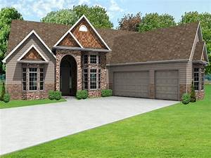 Ranch house plans with 3 car garage ranch house plans with for Small house plans 3 car garage