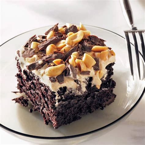 chocolate peanut butter fun cake recipe epicuriouscom