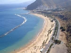 Playa, Teresitas, In, Tenerife