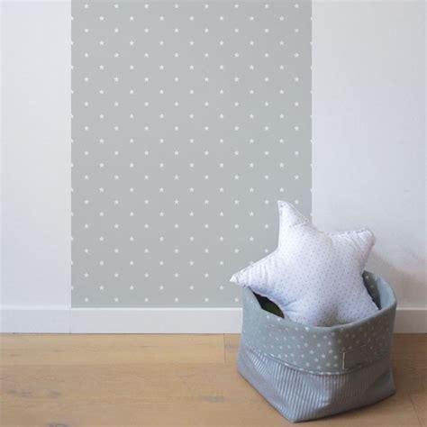 deco chambre bebe mixte papier peint chambre bébé étoiles