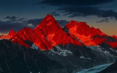 4k Mountains Sunset