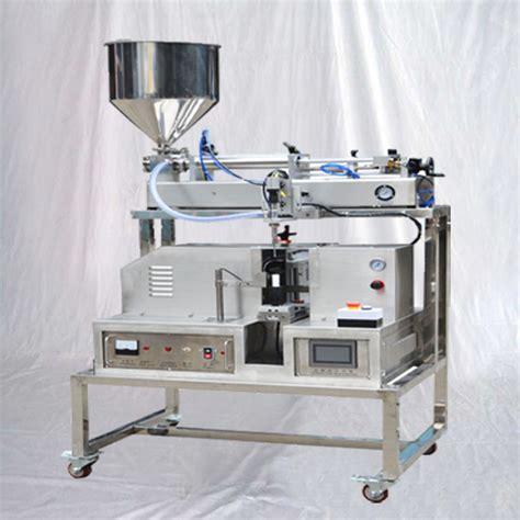 tube filling machine semi automatic tubes filler   ultrasonic sealing equipment
