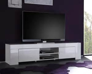 Ikea Sofa Tables Canada by Meuble Tv Hifi Blanc Laqu Design Esmeralda